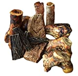 K9 Connoisseur Formerly Lillys Choice Dog Bones Made In USA For Large Aggressive Chewers Long Lasting Mammoth Marrow Filled Bone Chew with Beef Jerky, Lung, and Trachea Treats Best For Dogs Over 50 Lb