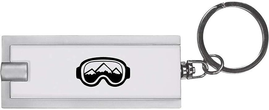 Azeeda Masque de Ski Porte-cl/és Torche LED Lampe de Poche KT00011232
