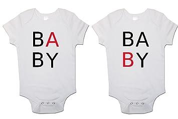 991ea5190902 Twins Baby Bodysuits (Set of 2)