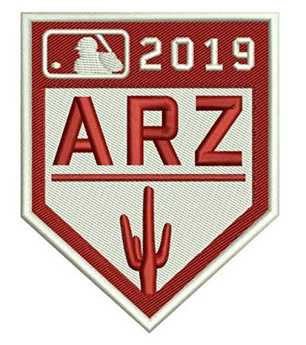 Elusive Dream Marketing Services 2019 Spring Training Patch Arizona Cactus League Baseball MESA Embroidered