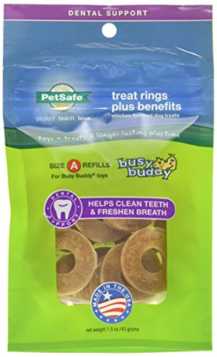 Petsafe Size A Dog Treat Ring Refills for Busy Buddy