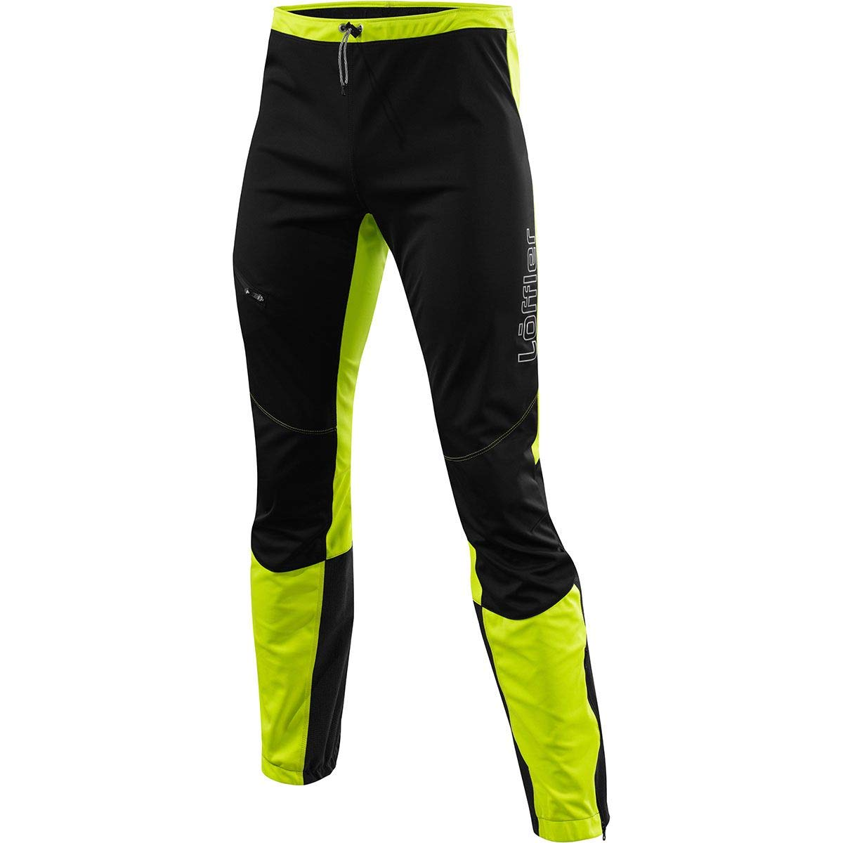 LÖFFLER Touring Pants Speed Light - Lime