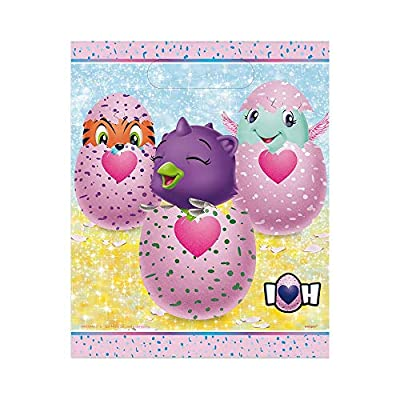 Hatchimals Party Supplies Loot Bags, 1 Pack: Toys & Games