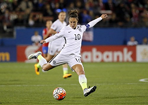 Carli Lloyd Sports Poster Photo Limited Print Sexy Celebrity USA Olympic Soccer Women Athlete Size 27x40 #1 Sexy Star Football