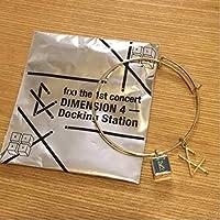 fx DIMENSION4 公式グッズ バングル ブレスレット クリスタル 検パーカー ペンライト トレカ タオル サイン krystalの商品画像
