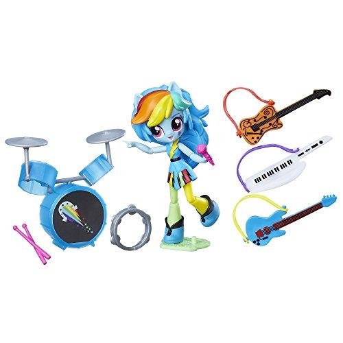 My Little Pony Equestria Minis Rainbow Dash Music Class Doll (My Little Pony Equestria Girls Rainbow Dash Doll)