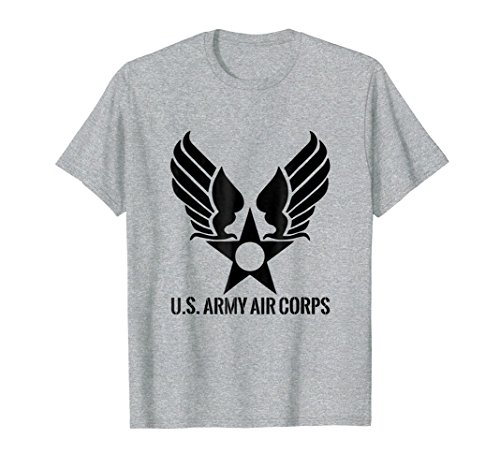 Mens Vintage Army Air Corps T Shirt - 20458 2XL Heather (Vintage Us Air)