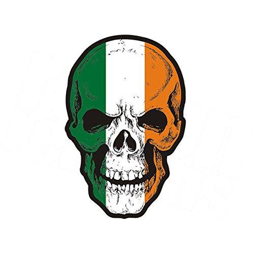 Ireland Flag Skull 3