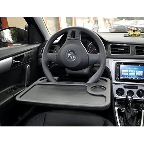 Jeasun Car Laptop Desk Multi Work Table Mount On Steering Wheel/Eating Desk