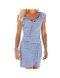 Sinzelimin Fashion Women Summer Dress Evening Party Beach Dresses V-Neck Knee-Length Slim Bodycon Pencil Cocktail Dress