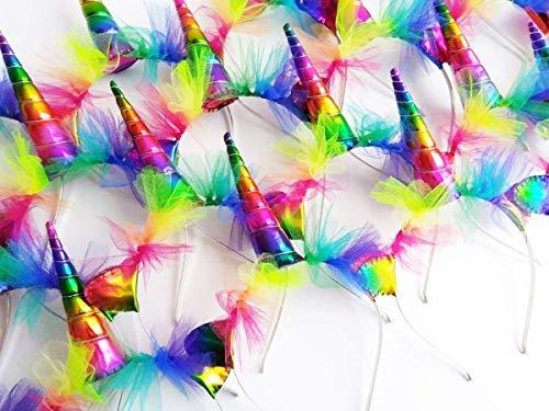Rainbow Unicorn Headband - Rainbow Unicorn Horn