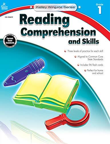 Carson-Dellosa Kelley Wingate Series Reading Comprehension and Skills Book - Common Core Edition, Grade 1, Ages 6 - 7 from Carson Dellosa Education