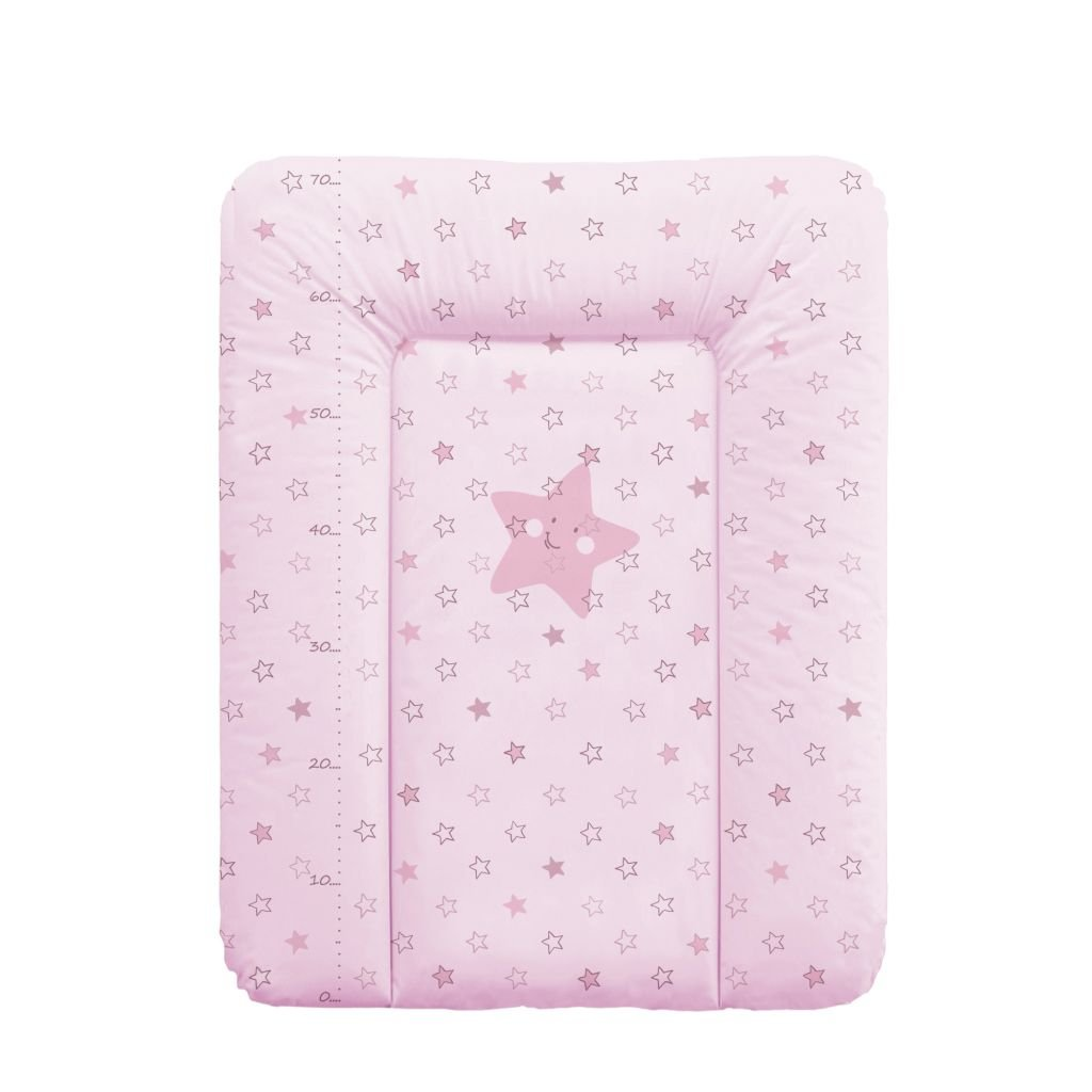 Colch/ón cambiador Confort Etoile de color beige Babycalin 50/x 70/cm/ /con un metro impreso rosa Rose Talla:50 X 70 CM