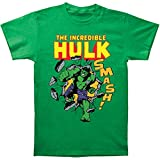 Marvel Comics The Incredible Hulk Smash! Adult Tee Shirt