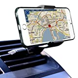 Soyan Air Vent Universal Smartphone Car Mount Holder Cradle,Cellphone Stands for iPhone 5 5S 5C 4 4S Samsung Galaxy S5 S4 S3 Note 3 and all Smartphones in Black