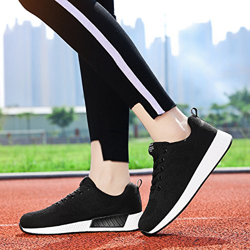 Student New Sports Hasag Breathable Woven Black Breathable Flying Shoes Women'S Shoes Shoes xBxwYZq6