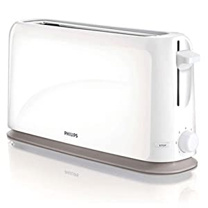 Philips Daily Collection Toaster HD2598_00 Long slot Compact 220V