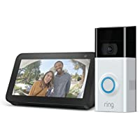 Ring Video Doorbell 2 + FREE Amazon Echo Show 5