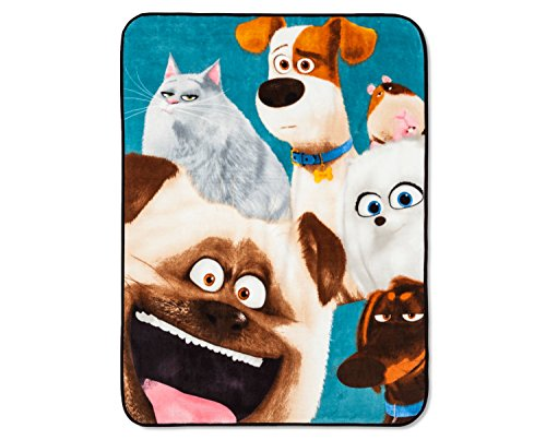 Secret Life of Pets Throw - Multicolor by Illumination
