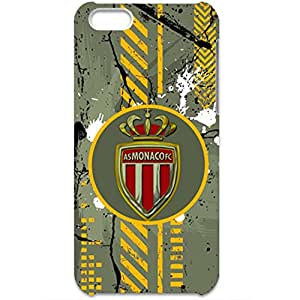 AS Monaco FC Ink Graffiti Logo Hard Protective Phone Case for Iphone 5C