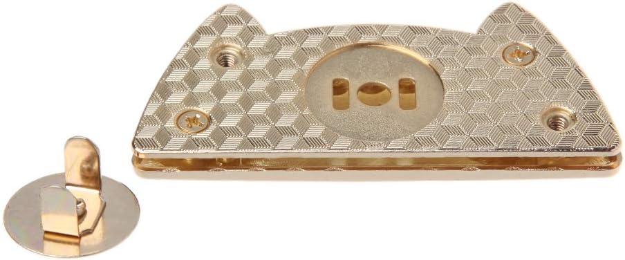 Yangfr Chat mignon magn/étique Porte-monnaie Snap fermoirs Bouton utilis/é par fermeture /à Sac V/êtements Couture Craft