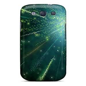 Durable Defender Case For Galaxy S3 Tpu Cover(fireworks Xplosion)