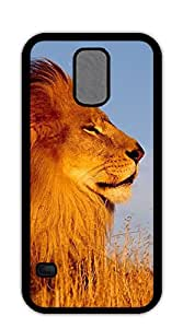 NBcase Cool Lion Hard PC case for samsung galaxy s5 for men