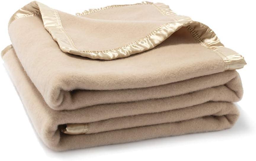 Amazon.com: 100% Pure Wool Blanket,Wool Blankets Queen Size,Wool