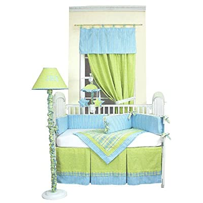 Hoohobbers 4-Piece Crib Bedding, Dragonbuzz from Hoohobbers