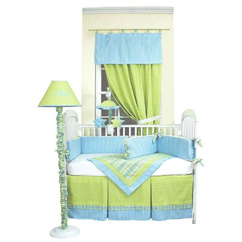 Hoohobbers 4-Piece Crib Bedding, Dragonbuzz