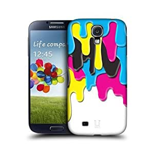 Colourful Cmyk Meltdown Back Case Cover For Samsung Galaxy S4 I9500