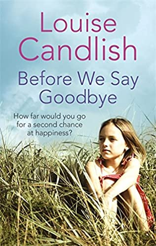 book cover of Before We Say Goodbye