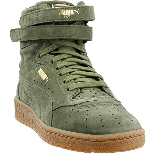 PUMA Sky II Hi NBK Women US 7.5 Green Sneakers
