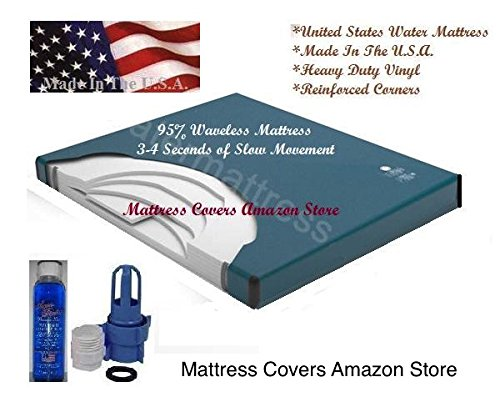 California King 95% waveless waterbed mattress by Unknown