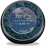 MightySkins Skin for Amazon Echo Spot - Dark Butterfly | Protective, Durable, and Unique Vinyl Decal wrap Cover | Easy to Apply, Remove, and Change Styles | Made in The USA