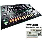 Roland TR-8 Rhythm Performer with 7X7-TR8 Drum Machine Expansion Bundle
