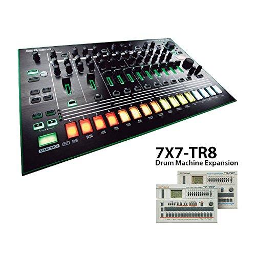Roland TR-8 Rhythm Performer with 7X7-TR8 Drum Machine Expansion Bundle (Tr Drum 808 Machine)