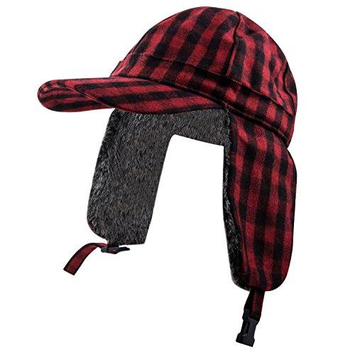(Pierre Cardin Men's Baseball Cap (Red, 3XL))