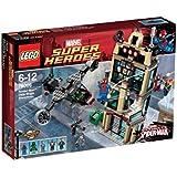 LEGO Super Heroes - Marvel - 76005 - Jeu de Construction - L'attaque du Daily Bugle - Spider-Man