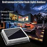 Solar Deck Lights ,Oriental Forest LED Dock