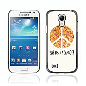 Designer Depo Hard Protection Case for Samsung Galaxy S4 Mini / Cool Pizza Piece