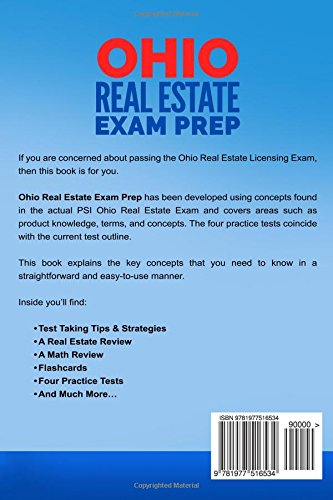 Ohio Real Estate Exam Prep: The Complete Guide to Passing the Ohio