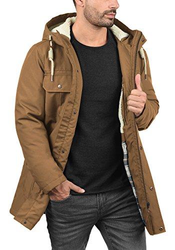 Cinnamon colour Jacket Winter Teddy 5056 Men's SOLID Chara size L wBa8xw7q4