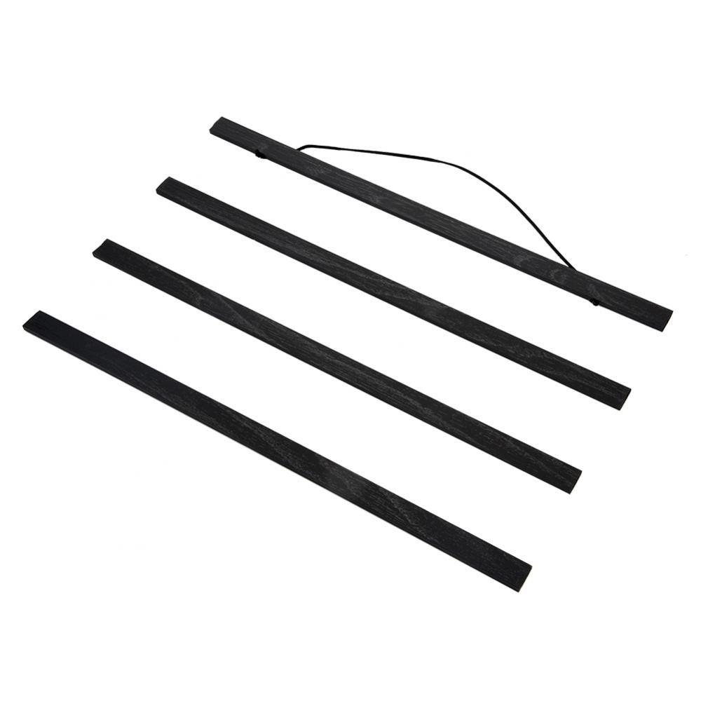 Cornice magnetica in legno naturale Per fai-da-te, foto, pittura su tela, appendiabiti per poster, per la decorazione domestica di pareti - (dimensioni: 21-80cm)(21cm) Zunate