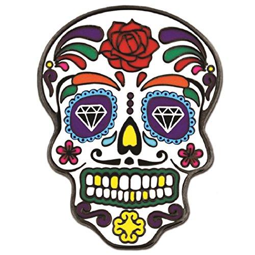 PinMart Day of The Dead Dia de Muertos Halloween Enamel Lapel Pin