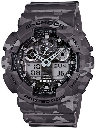 CASIO G SHOCK Camouflage GA 100CM 8AJF Japan