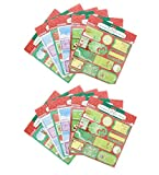 Gift Tags 432 Count Self-Stick 12 Assorted Designs