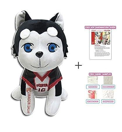 Tablero de Kuroko Tetsuya TecGadgets sin cesta Seirin perro peluches Anime muñeca peluches peluche juguete figura