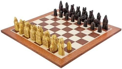 The Regency Chess Company Isla De Lewis Ajedrez Juego Caoba: Amazon.es: Juguetes y juegos