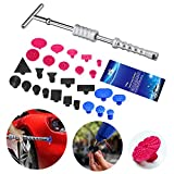 Super PDR 29Pcs Auto Car Body Paintless Dent Repair Removal Kits Slide Hammer T-Bar Glue Puller Tabs